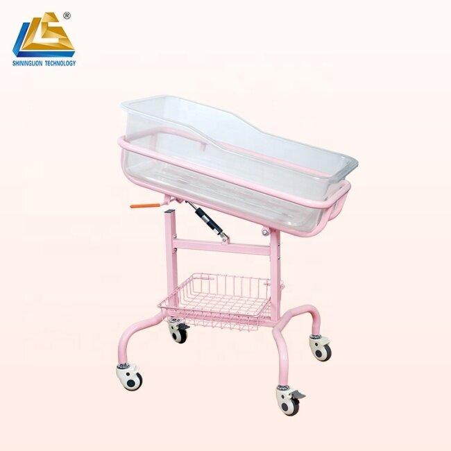 Back Adjustable Hospital Baby Bed
