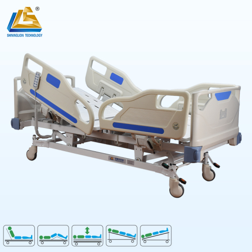 Five function CE certificated hospital bed electric bed