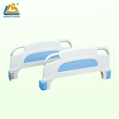 Plastic head foot board for medical bed
