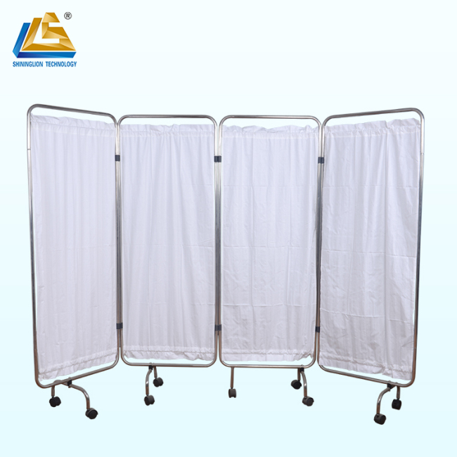 Cotton replacement 4 panel medical curtain