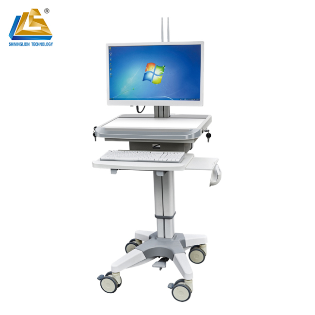 doctor computer medical cart