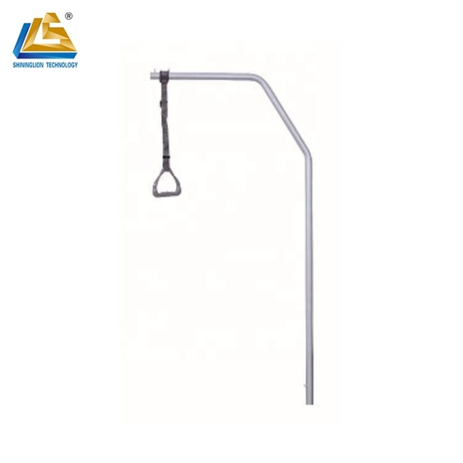 Steel monkey pole for lifting uses