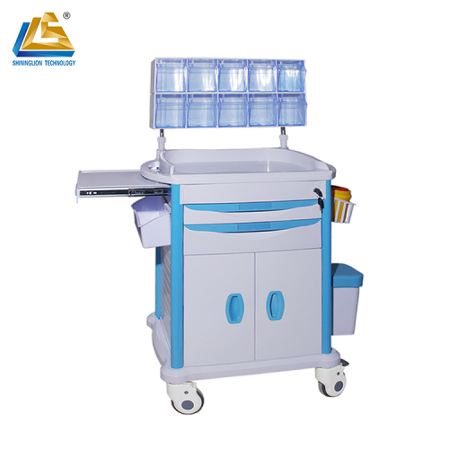 Hospital Medical Emergency Equipment Cart Treatment Cart