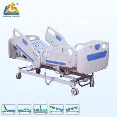 Modern ICU medical bed five function adjustable bed