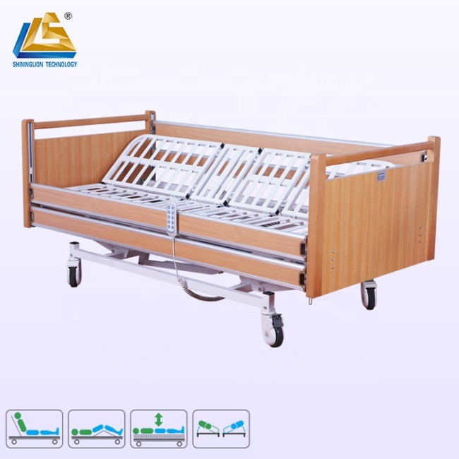 Turning bed for bedridden patient anti-bedsore homecare bed