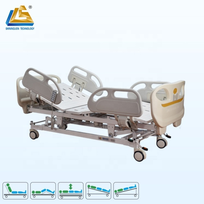 Deluxe ICU hospital bed competitive prices hospital bed
