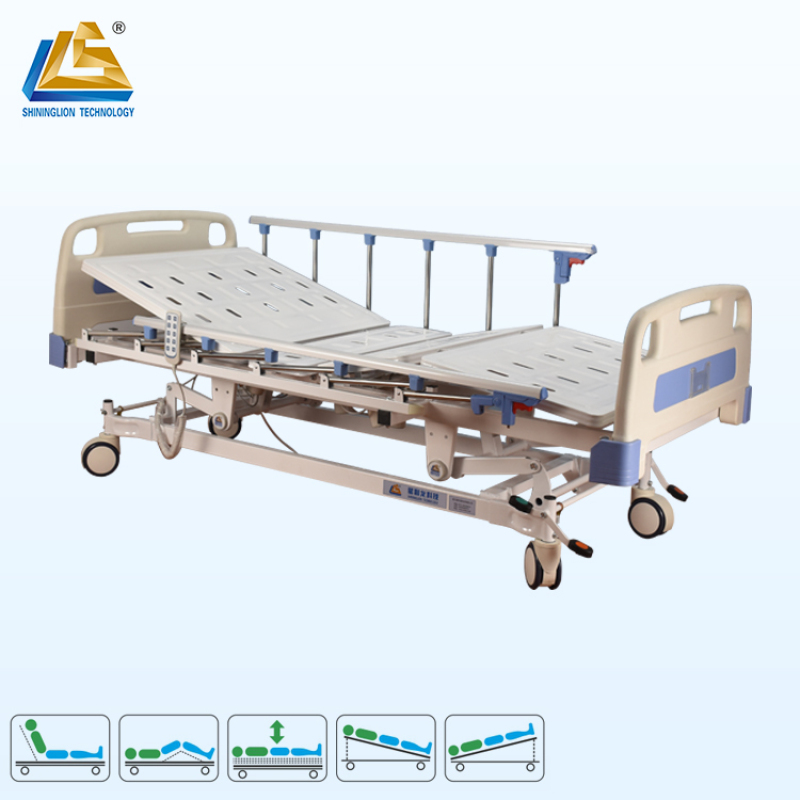 Single room five function electric medical bed