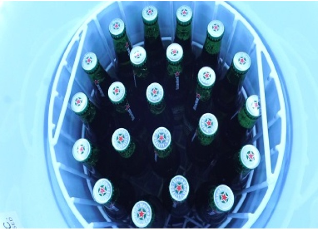 Need a Meisda Can Fridge for Beer and Drink Brand Promotion