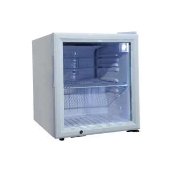 Meisda SC52 50 Can 1.8 cu.ft Display Refrigerator with 3-Side HD Printed Sticker 17.1""