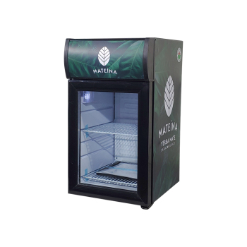 """Meisda SC21B 18 Can 0.7 cu.ft.  Countertop Impulse Cooler with Branded Lamp Box 13"""""""