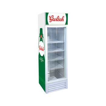 Grolsch Beer SC235BG 240 Can 8.3 cu.ft Upright Chiller with Swing Door and 3-Side HD Printed Sticker 21""