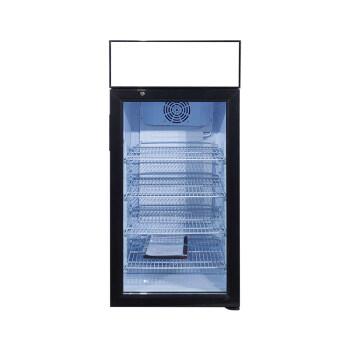 "Meisda Black SC106B 3.6 cu.ft. Countertop Cooler with Adjustable Shelves 19"""