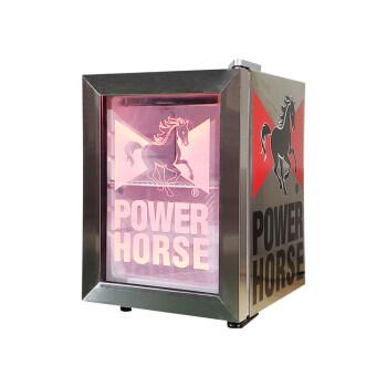 """Meisda SC21 18 Can 0.7 cu.ft. Countertop Mini Cooler with Swing Glass Door 13"""""""