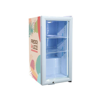 """Mr.Big Energy Drink SC40 42 Can 1.4 cu.ft. Countertop Cooler with Brand sticker display 13.7"""""""