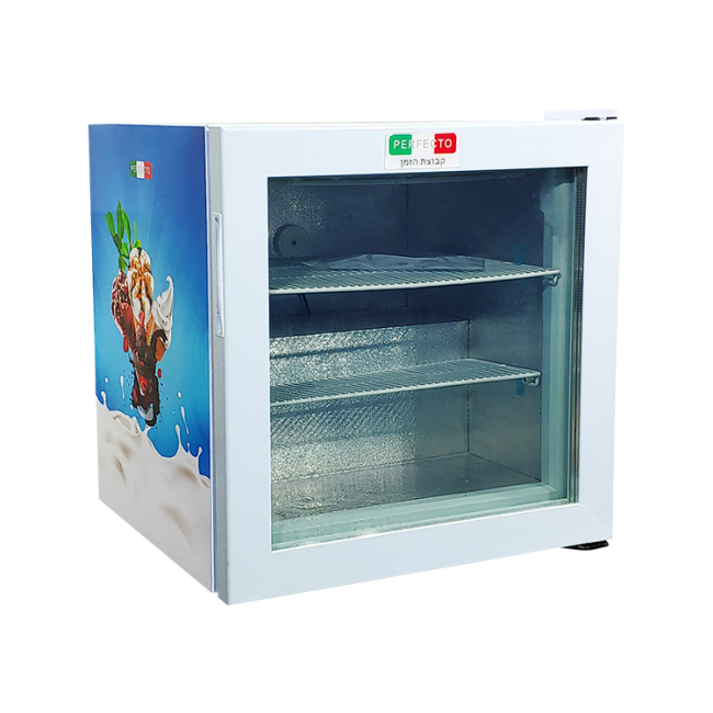 """Meisda SD55 1.9 cu.ft Three-Layer Tempered Glass Countertop Freezer with Led Lighting 23.4"""""""