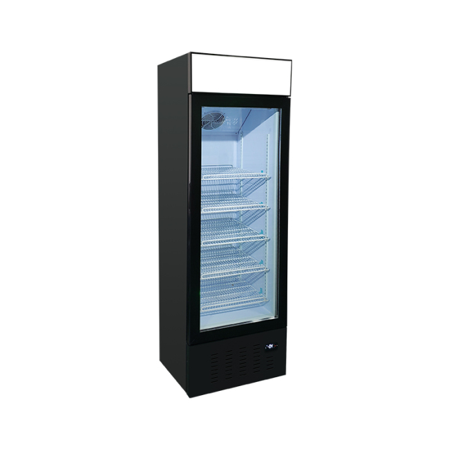 Meisda SD235B 8.3 cu.ft Free-Standing Freezer with Swing Door and 3-Sided HD Sticker 23""
