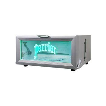 """Meisda SC25H 18 Can 0.9 cu.ft Flat Mobile Cooler with High Visibility Etching Logo 23.6"""""""