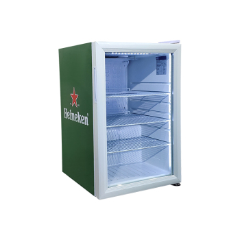 Heineken Beer SC68 65 Can 2.4 cu.ft  Mini Bar Fridge with 3-Side HD Printed Sticker 17.1 ""