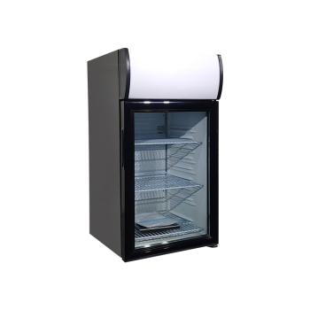 Soft Drink SC52B 48 Can 1.8 cu.ft Branded Fridge with Top Lit Header with LED Lighting16.5 ""