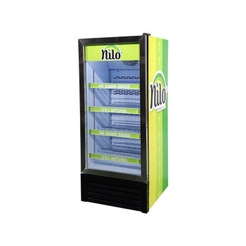 """Meisda SC190L 170 Can 6.7 cu.ft Upright Showcase with Universal Wheels 21.2"""""""