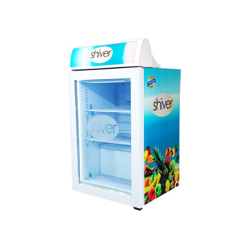 "Meisda SD98B 3.5 cu.ft Countertop Iceccream Freezer with Branded Lampbox 23.4"""