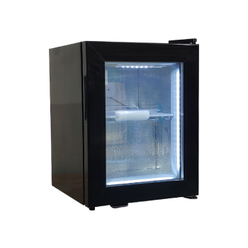 Kukki Cocktail SD21 0.7 cu.ft -18°C Liquors Subzero Mini Freezer with Led Lighting 15.7""