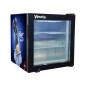 "Italian Ice-Cream SD55 1.9 cu.ft Three-Layer Tempered Countertop Freezer with Adjustable Shelves 23.4"""