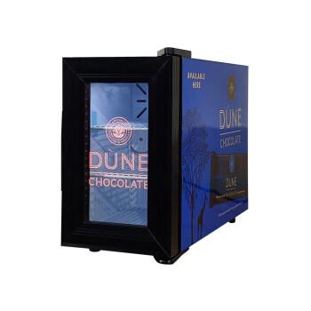 "Meisda SC08  0.3 cu.ft Identical Mobile Milk Cooler - Coffee Machine Mate 8.7"""