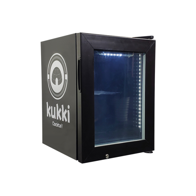 "Kukki Cocktail SD21 0.7 cu.ft -18°C Liquors Subzero Mini Freezer with Led Lighting 15.7"""