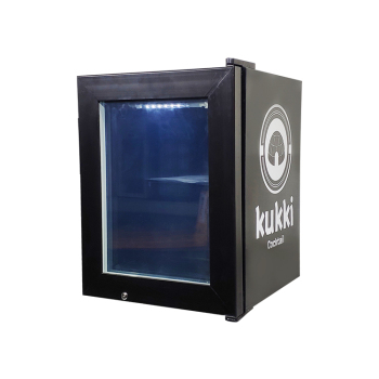Meisda SD21 0.7 cu.ft -18°C Liquors Countertop Mini Freezer with Led Lighting 15.7""