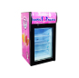 """Meisda SD50B 1.8 cu.ft Countertop Display Freezer with 3-Side HD Printed Sticker 18.1"""""""