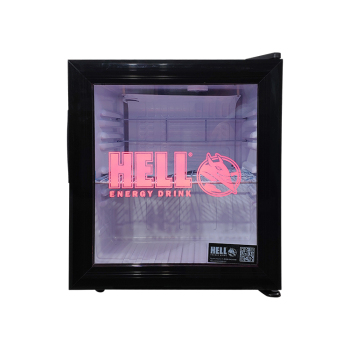 """Meisda SC52 50 Can 1.8 cu.ft Countertop Cooler with 3-Side HD Printed Sticker 17.1"""""""