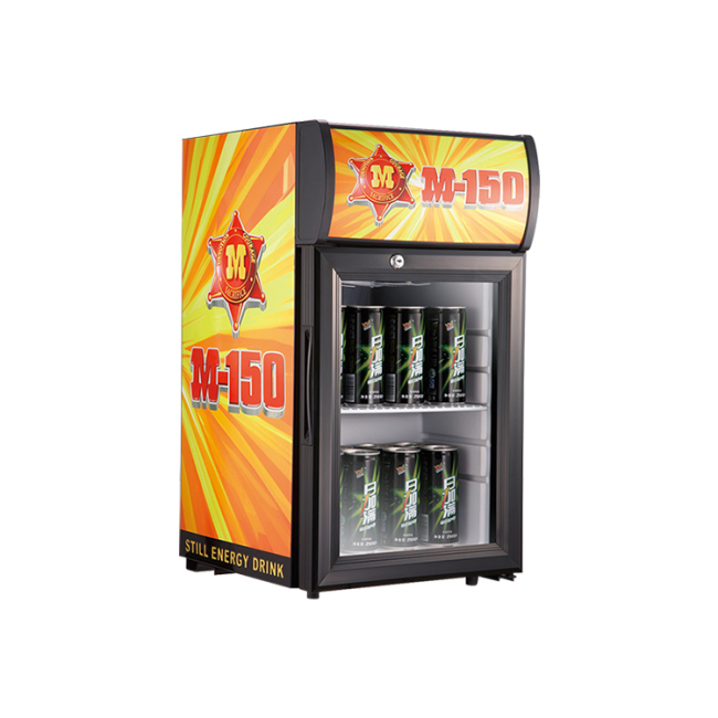 """Energy Drink SC21B 18 Can 0.7 cu.ft. Countertop Impluse Fridge with Branded Sticker 13"""""""
