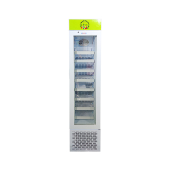 Meisda SD105B 3.8 cu.ft Upright Freezing Merchandiser with Iconic Slimline Design 16.5""