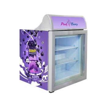 "Jal Mahal SD55B 1.9 cu.ft Mini Ice-cream Freezer with Branded Sticker 23"""