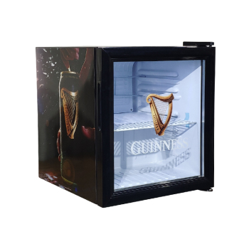 Guinness Beer SC52 50 Can 1.8 cu.ft Display Refrigerator with LED Etched Glass Logo 17.1""