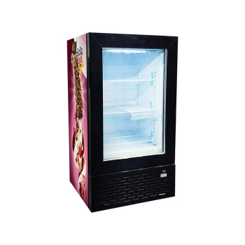 Frozen Snack SD50 1.8 cu.ft Solid Door Display Freezer with Internal Led Lighting and Brand Sticker 18.1""