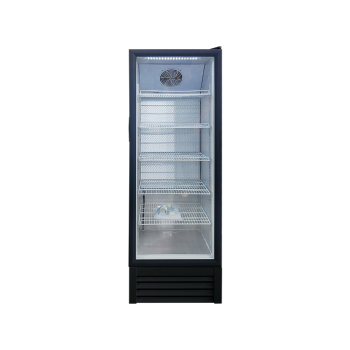 Meisda SC235L 240 Can 8.3 cu.ft Grocery Shop Upright Showcase with HD 3-Side Sticker 21""