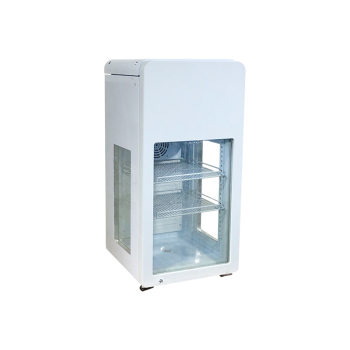 """Meisda SC68T 60 Can 2.4 cu.ft 3-Side Transparent Glass Door Beverage Cooler 18.2"""""""
