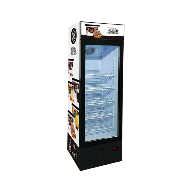 """Meisda SD235B 8.3 cu.ft Free-Standing Freezer with Swing Door and 3-Sided HD Sticker 23"""""""