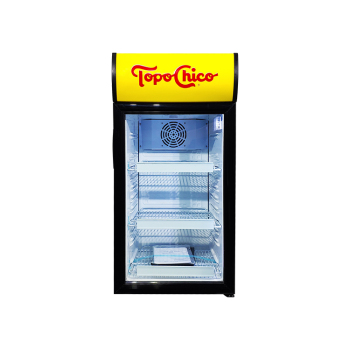 """Meisda SC80B 80 Can 2.8 cu.ft Countertop Cooler with Branded Lampbox  18.2"""""""