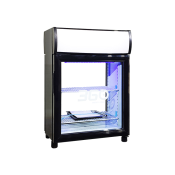 """Vodka SC35B 30 Can 1.2 cu.ft  Display Refrigerator with Front and Rear Double Door 19"""""""