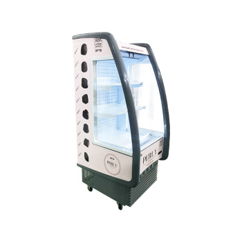 """Meisda SC330F 151 Can 11.7 cu.ft Open Air Merchandiser with Branded Sporty Design 24.6"""""""