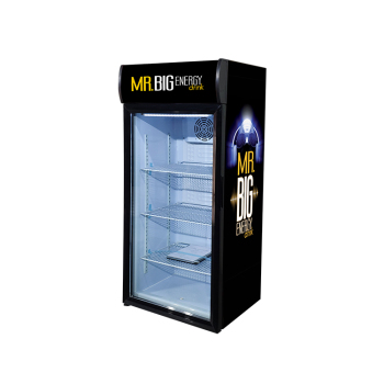 """Meisda SC130B 138 Can 4.6 cu.ft Countertop Cooler with Branded Lampbox 21.3"""""""