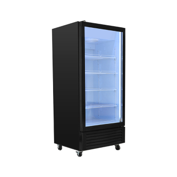 Meisda SC190L 170 Can 6.7 cu.ft Upright Showcase with Universal Wheels 21.2""