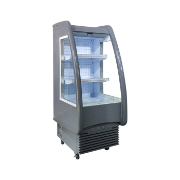 Meisda SC330F 151 Can 11.7 cu.ft Open Air Merchandiser with Branded Sporty Design 24.6""