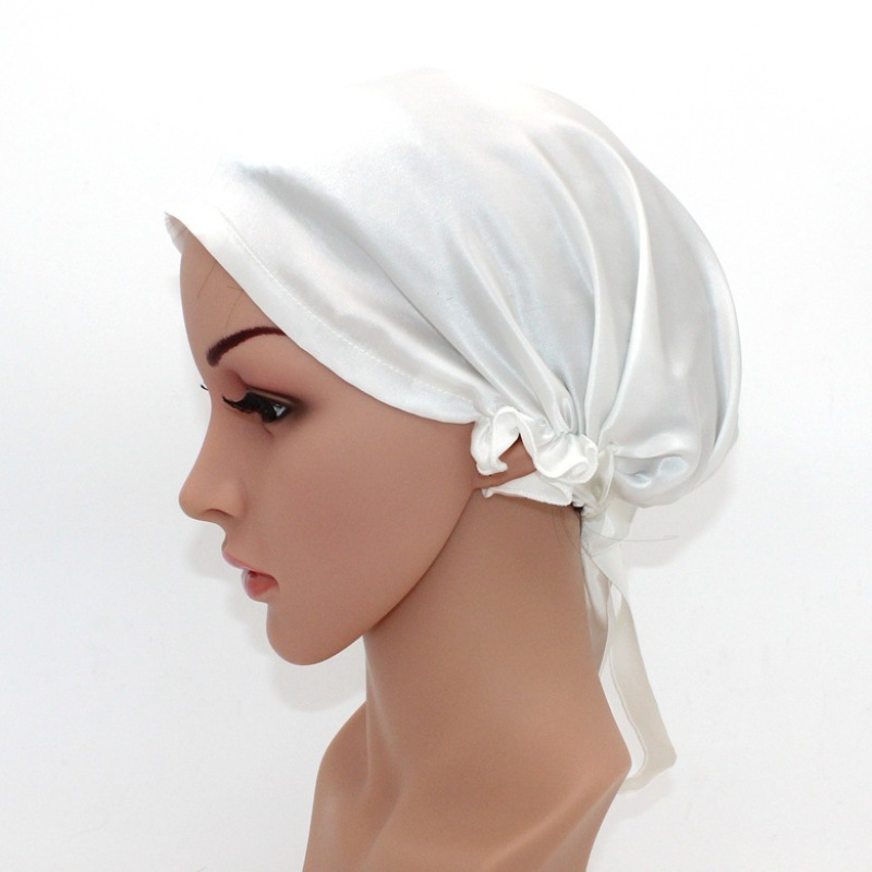 Mulberry Silk Night Cap For Natural Hair