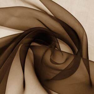 Natural Mulberry Silk 100 Pure Silk Organza Fabric