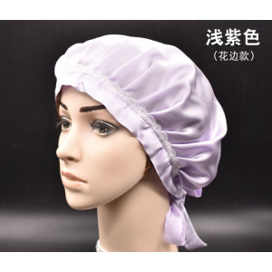 Best Pure Silk Sleep Cap For Curly Long Hair