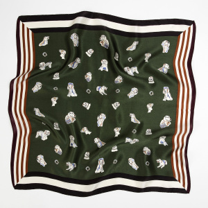Wholesale 53x53cm Silk Satin Scarf For Women